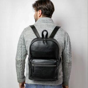 Уникальный черный мужской рюкзак FBR-2139 236726