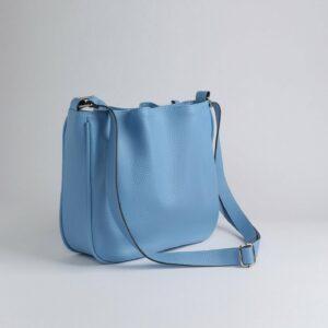 Модная голубая женская сумка FBR-189 236647