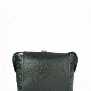 Солидная черная женская сумка через плечо FBR-2600 236854