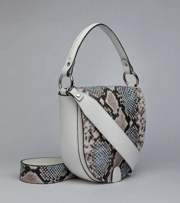 Солидная белая женская сумка FBR-2793