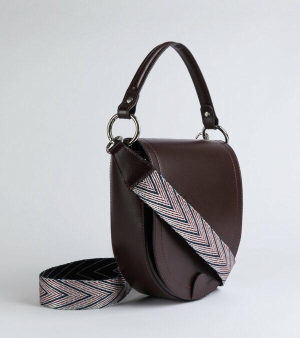 Вместительная бордовая женская сумка FBR-2796