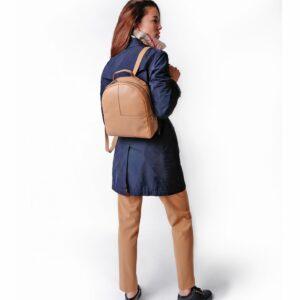 Модный светло-желтый женский рюкзак FBR-2263 236783