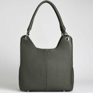 Деловая желтовато-зелёная женская сумка FBR-2267