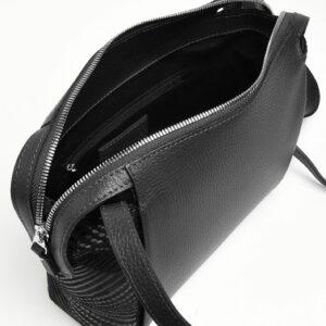 Функциональная черная женская сумка через плечо FBR-2478 236841