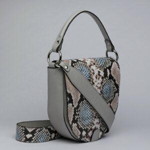 Стильная серая женская сумка FBR-2795