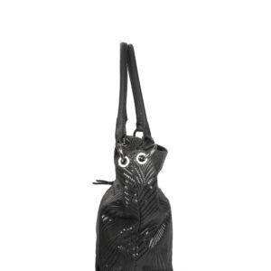 Удобная черная женская сумка FBR-1659 236706