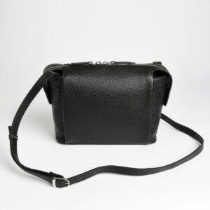Солидная черная женская сумка через плечо FBR-2600