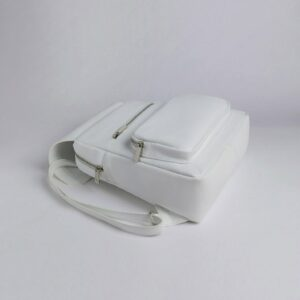 Вместительный белый женский рюкзак FBR-2885 236904