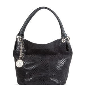 Удобная черная женская сумка FBR-1659