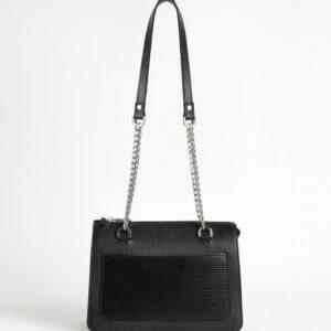 Кожаная черная женская сумка FBR-2195 236766