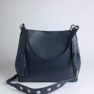 Солидная синяя женская сумка FBR-2784