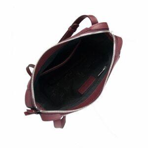 Кожаная бордовая женская сумка через плечо FBR-2477 236830