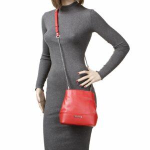 Кожаная красная женская сумка FBR-2181 236749