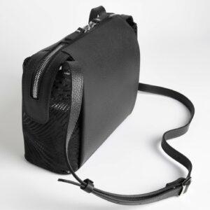 Функциональная черная женская сумка через плечо FBR-2478 236838