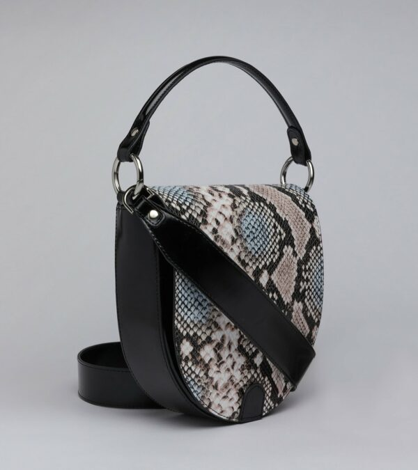 Уникальная черная женская сумка FBR-2797