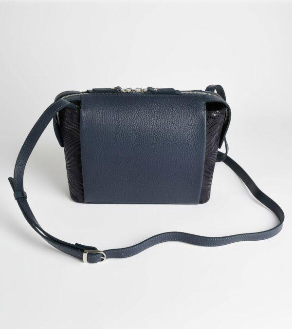 Неповторимая синяя женская сумка через плечо FBR-2599