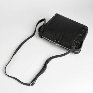 Солидная черная женская сумка через плечо FBR-2600 236858