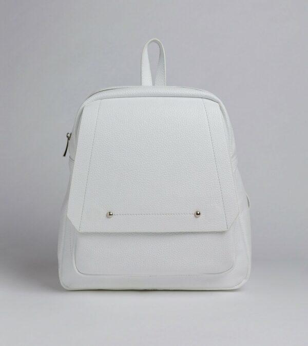 Вместительный белый женский рюкзак FBR-2885