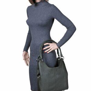 Деловая желтовато-зелёная женская сумка FBR-2267 236788