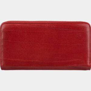 Кожаный красный портмоне ATS-2758 237011