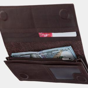 Солидный коричневый кошелек ATS-1722 237014