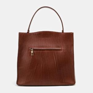 Уникальная светло-коричневая сумка с росписью ATS-4132 236632