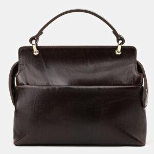 Вместительная коричневая сумка с росписью ATS-4133 236627
