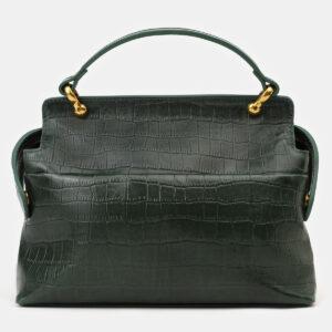Солидная зеленая женская сумка ATS-4135 236616