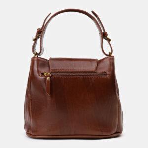 Уникальная светло-коричневая сумка с росписью ATS-4134 236621