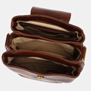 Уникальная светло-коричневая сумка с росписью ATS-4134 236623
