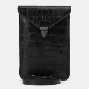 Функциональный черный женский клатч ATS-4137