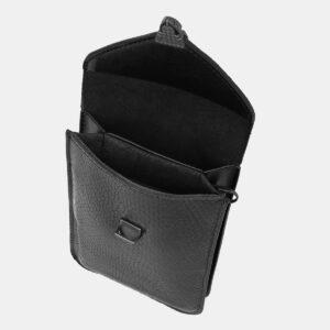 Удобный черный женский клатч ATS-4138 236602