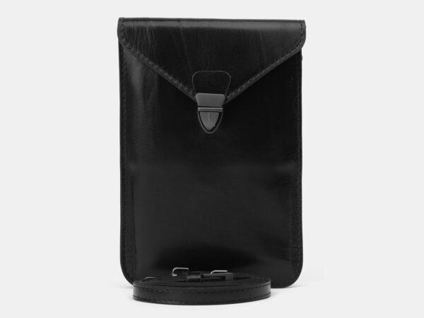 Неповторимый черный женский клатч ATS-4139