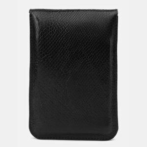 Удобный черный женский клатч ATS-4140 236592