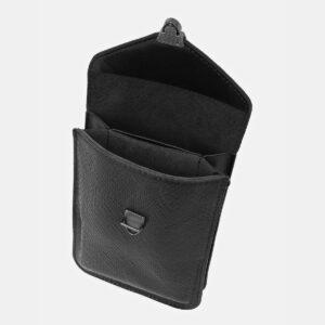 Удобный черный женский клатч ATS-4140 236594