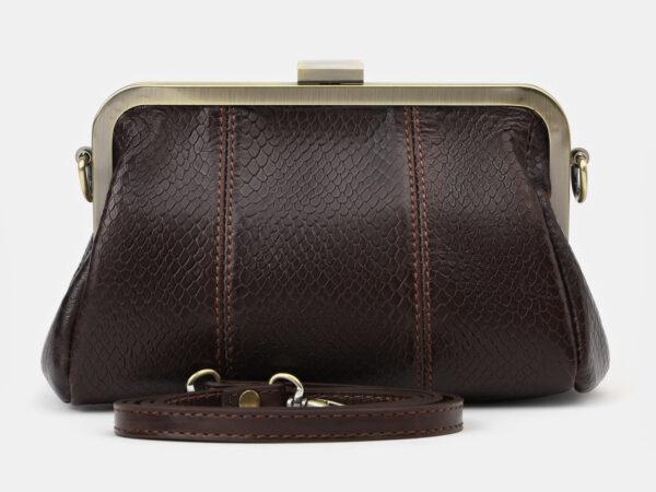 Удобный коричневый женский клатч ATS-4141