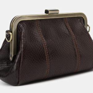Удобный коричневый женский клатч ATS-4141 236586