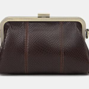 Удобный коричневый женский клатч ATS-4141 236587