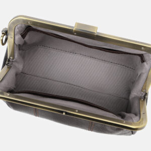 Удобный коричневый женский клатч ATS-4141 236588