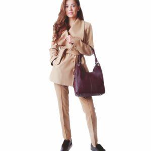 Неповторимая бордовая женская сумка FBR-2345 236795