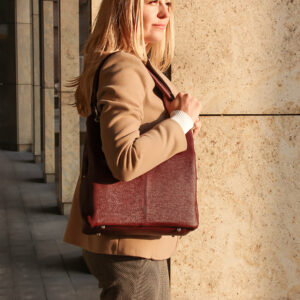Неповторимая бордовая женская сумка FBR-2345 236808