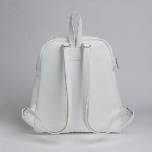 Вместительный белый женский рюкзак FBR-2885 236903