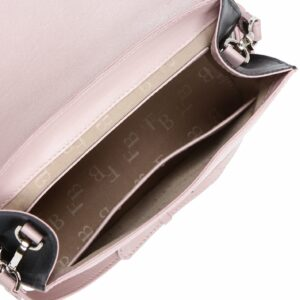 Стильная розовая женская сумка FBR-2188 236759