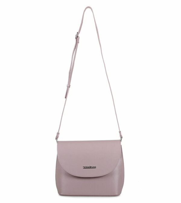 Стильная розовая женская сумка FBR-2188