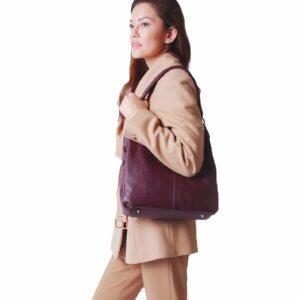 Неповторимая бордовая женская сумка FBR-2345 236800