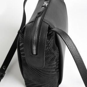 Функциональная черная женская сумка через плечо FBR-2478 236840