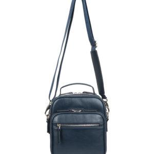 Удобная синяя мужская сумка через плечо FBR-1302