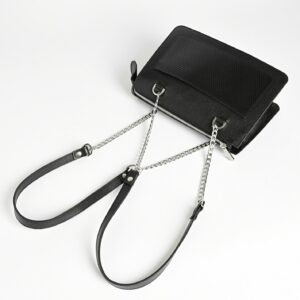 Кожаная черная женская сумка FBR-2195 236771