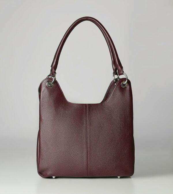 Неповторимая бордовая женская сумка FBR-2345