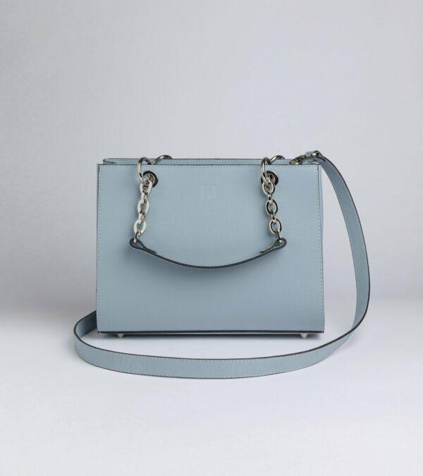 Стильная голубая женская сумка FBR-2150